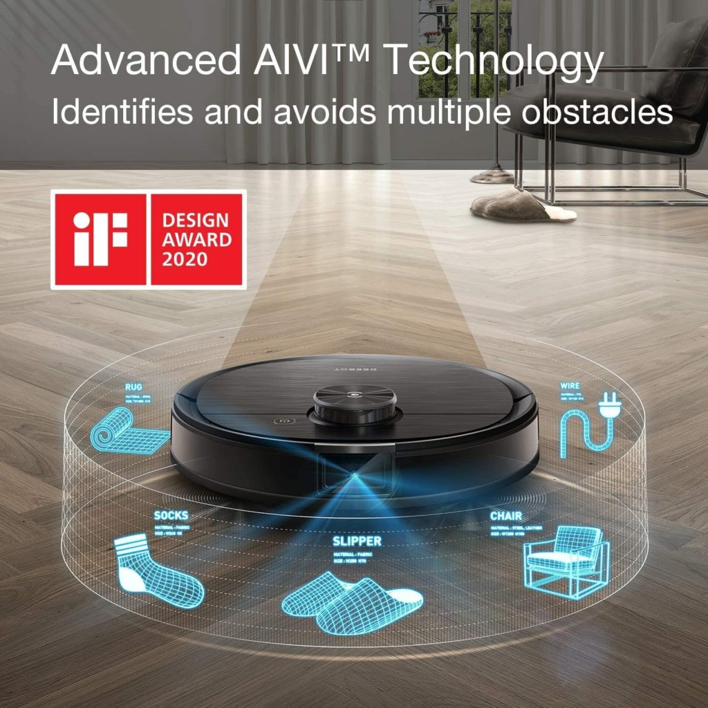 Ecovacs Deebot T8 AIVI obstacle avoid