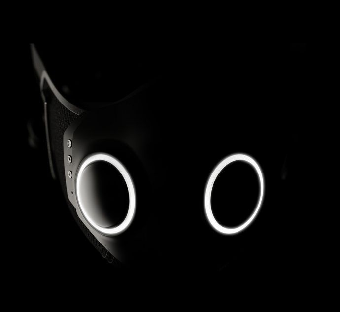 XUPERMASK Smart Mask Active Noice Cancelling Earbuds
