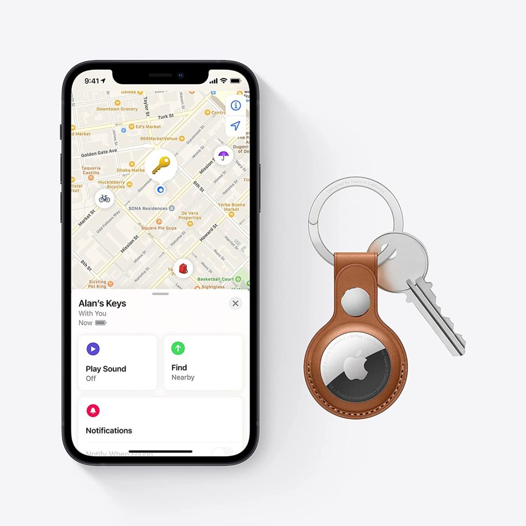 New Apple AirTag Keep track of and find your items