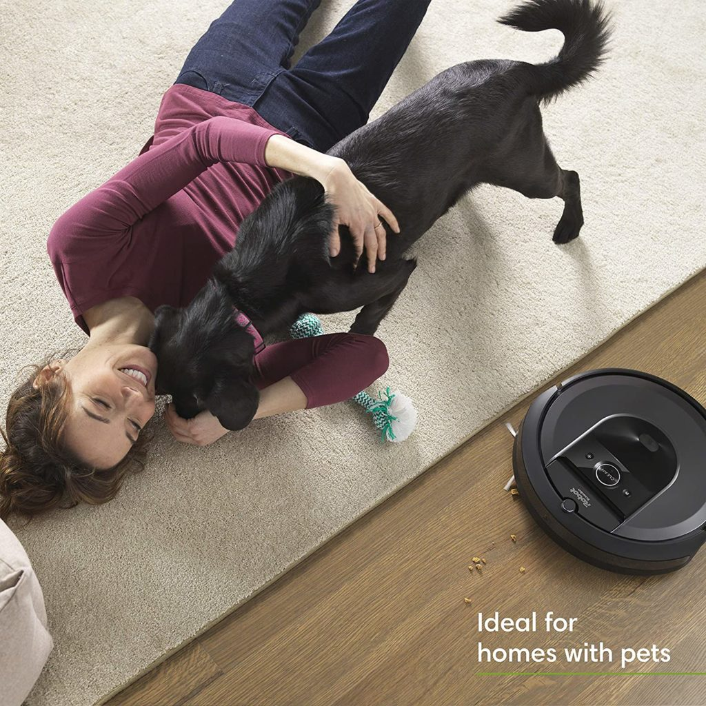 iRobot Roomba i7+ (7550) Robot Vacuum with Automatic Dirt Disposal ideal for home with pets