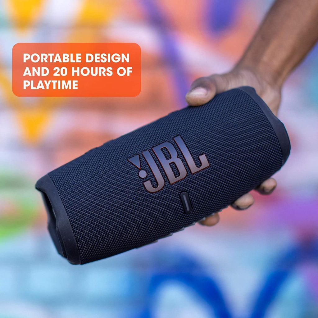 JBL Charge 5 battery 20 hours runtime