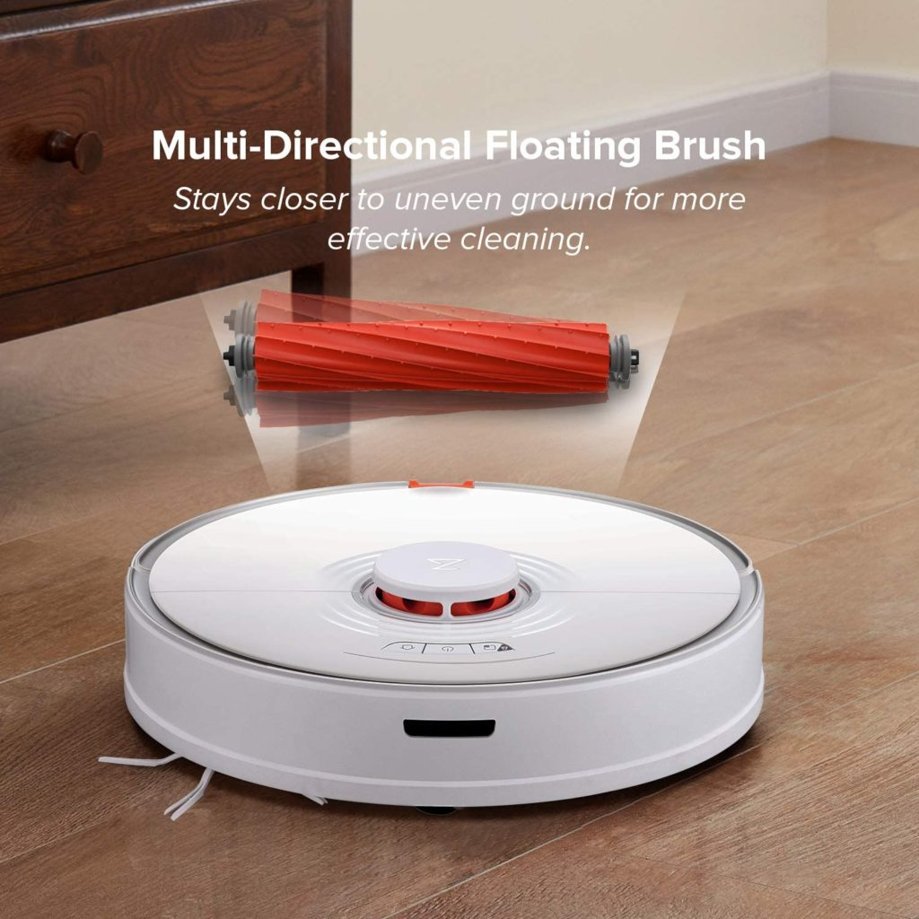 Roborock S7 Robot Vacuum with Sonic Mopping Multi-Directional Floating Brush