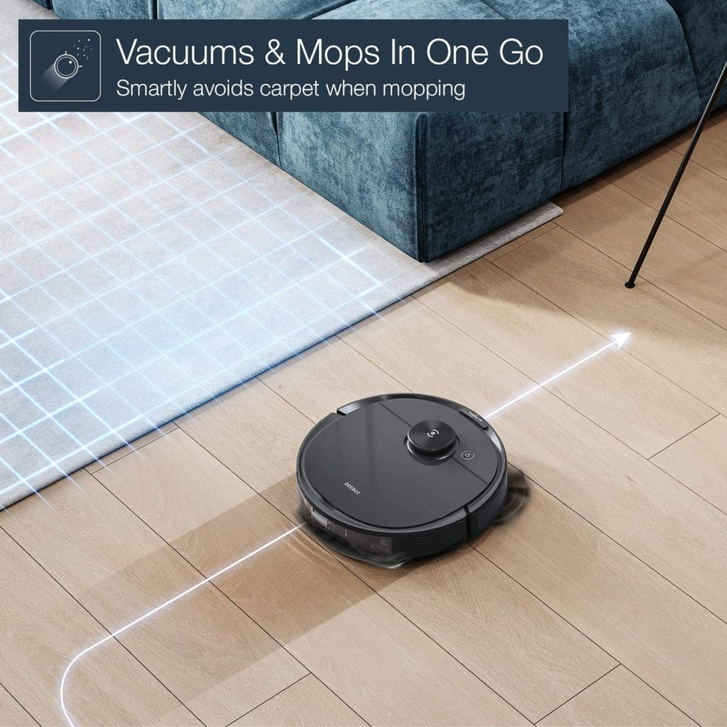 Ecovacs Deebot N8 Pro+ Vacuums and Mops in one go