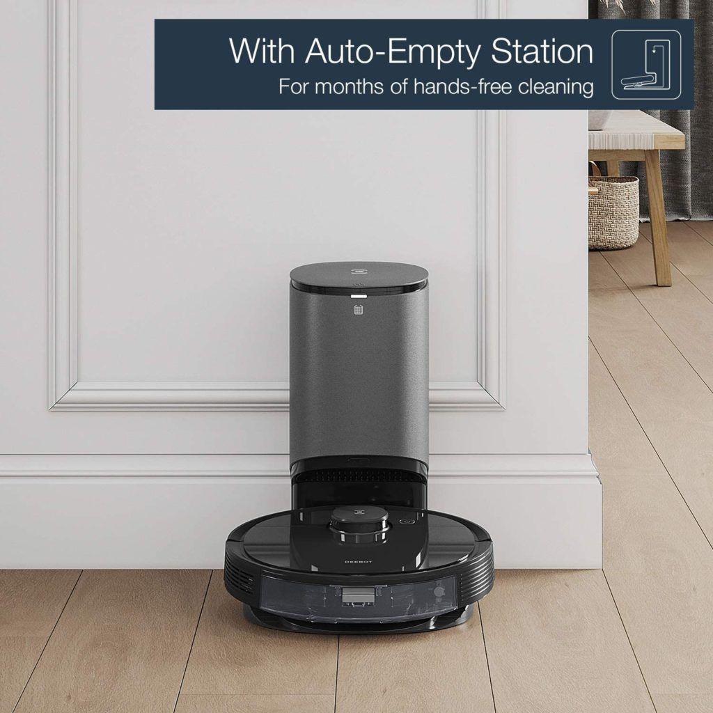 Ecovacs Deebot N8 Pro+ with auto-empty station