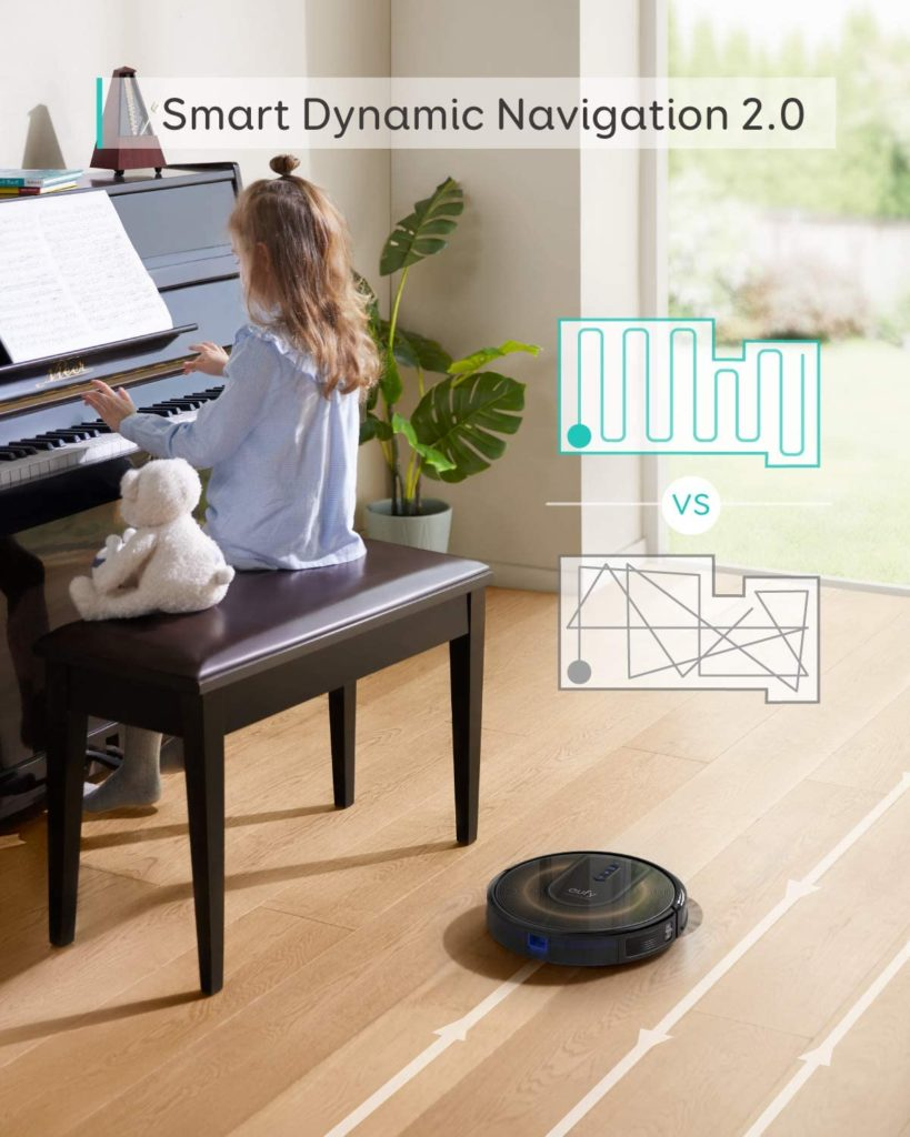 eufy by Anker, RoboVac G30 Edge, Robot Vacuum with Smart Dynamic Navigation 2.0
