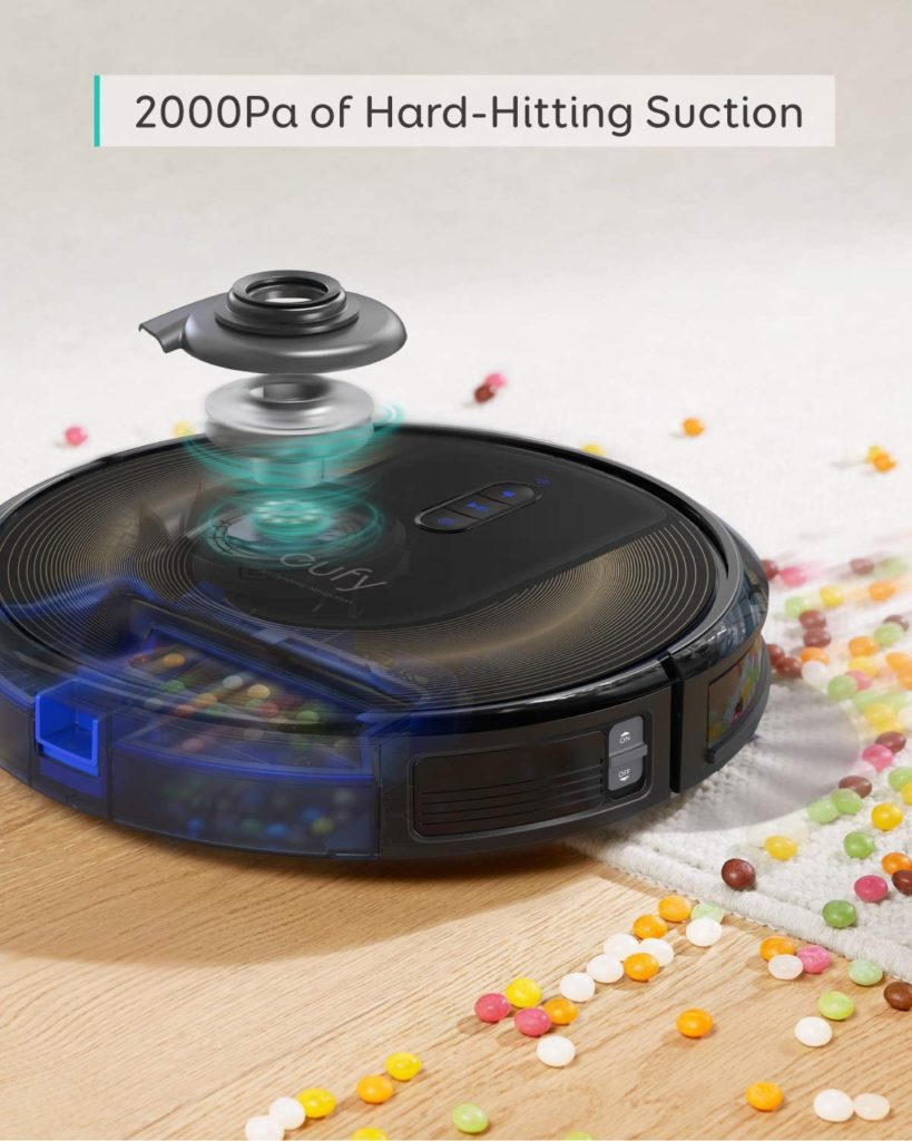 eufy RoboVac G30 Edge by Anker, Robot Vacuum with Smart Dynamic Navigation 2.0 2000Pa Suction Power