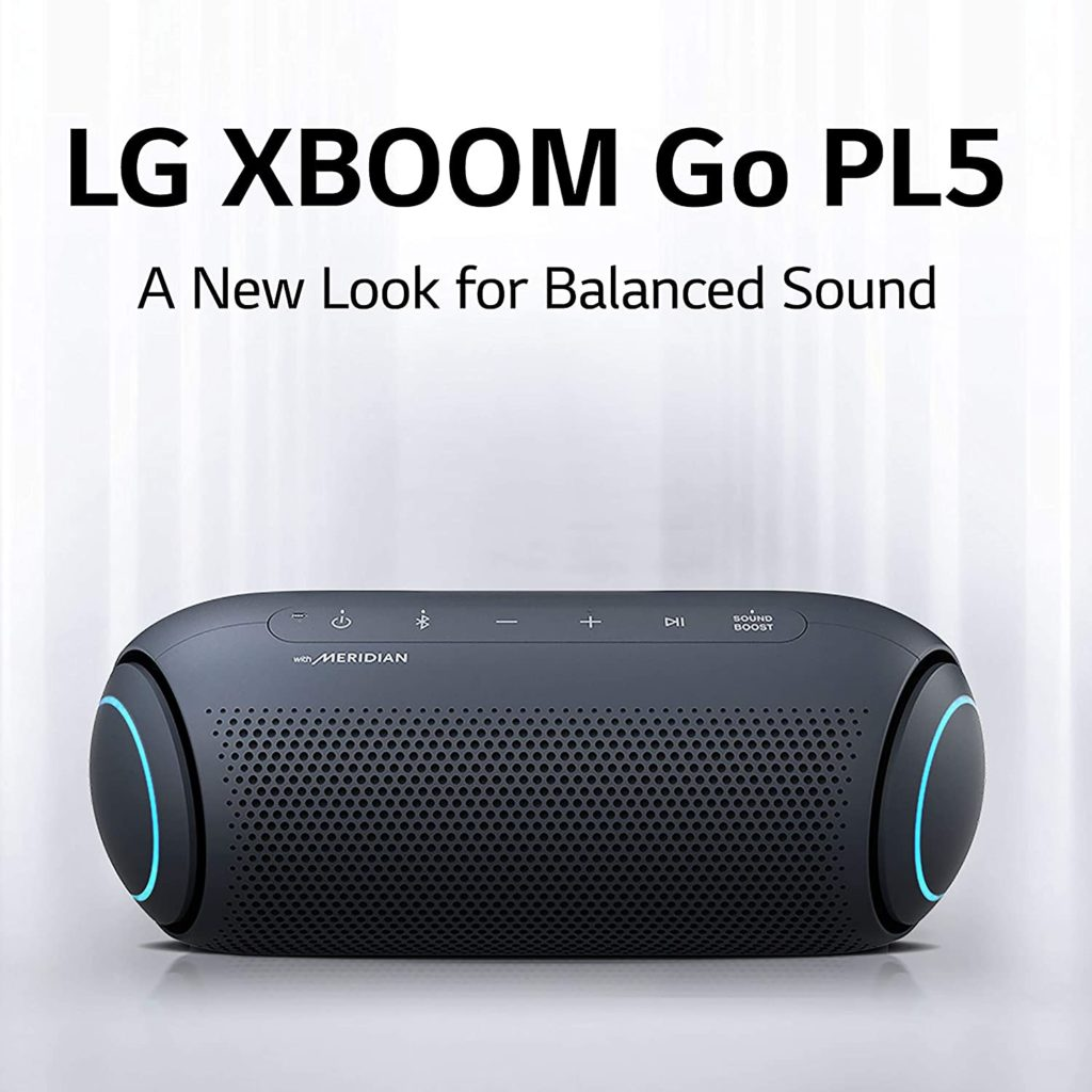 XBOOM Go PL5 Portable Bluetooth Speaker with Meridian Audio Technology Balanced Sound