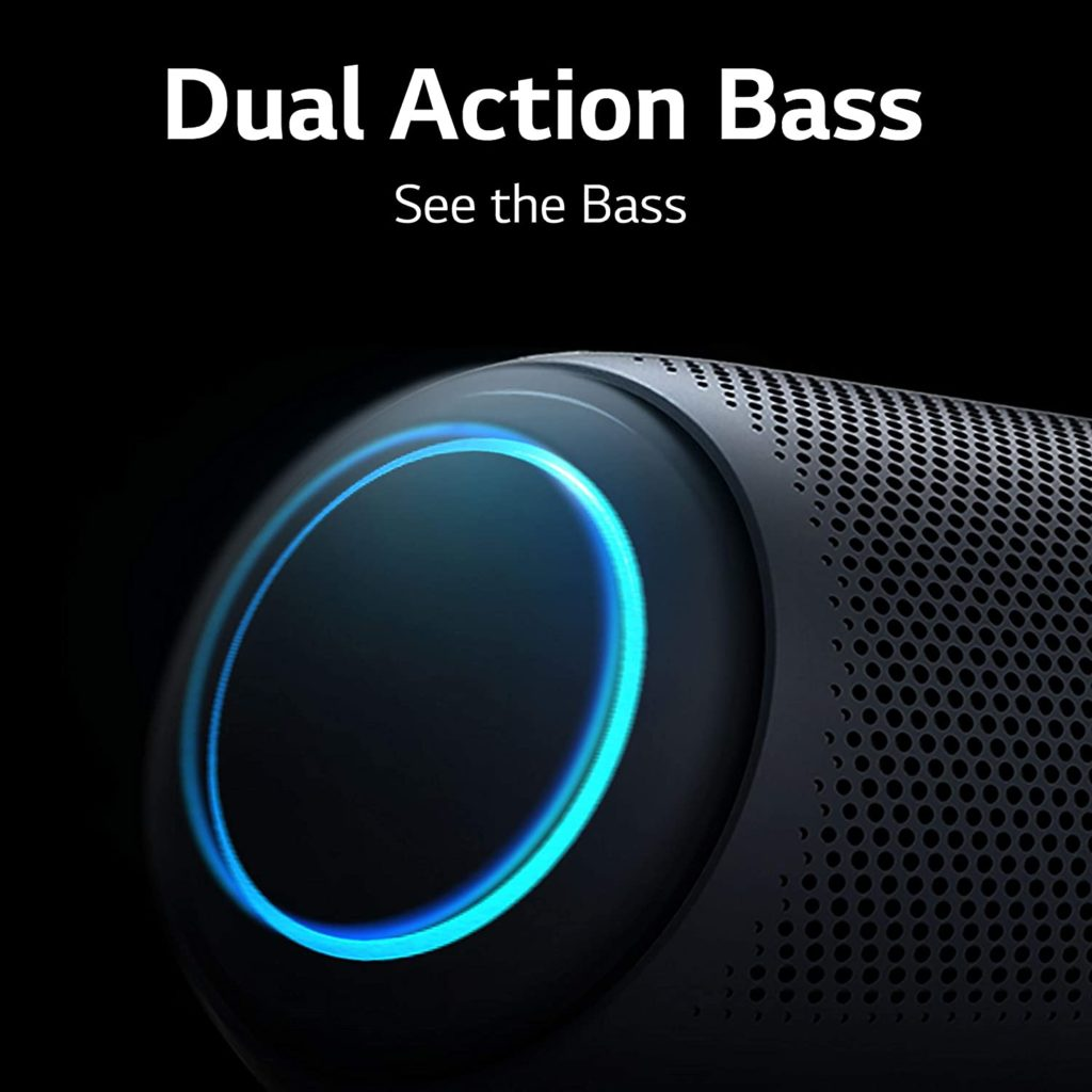 XBOOM Go PL5 Portable Bluetooth Speaker with Meridian Audio Technology Dual Action Bass